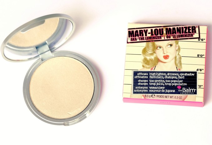 theBalm Mary Lou Manizer Review, Swatches MBF Blog