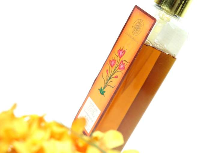 Forest Essentials Delicate Facial Cleanser Kashmiri Saffron Neem Review