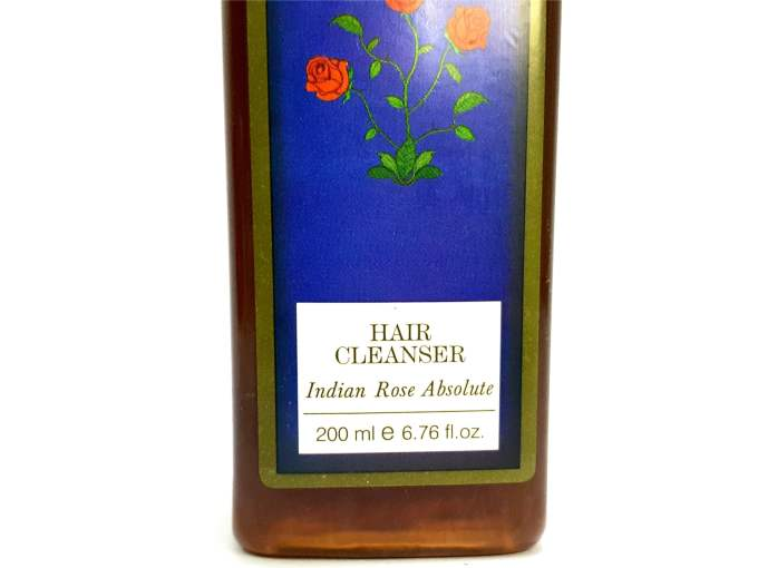 Forest Essentials Indian Rose Absolute Hair Cleanser Shampoo Review 1