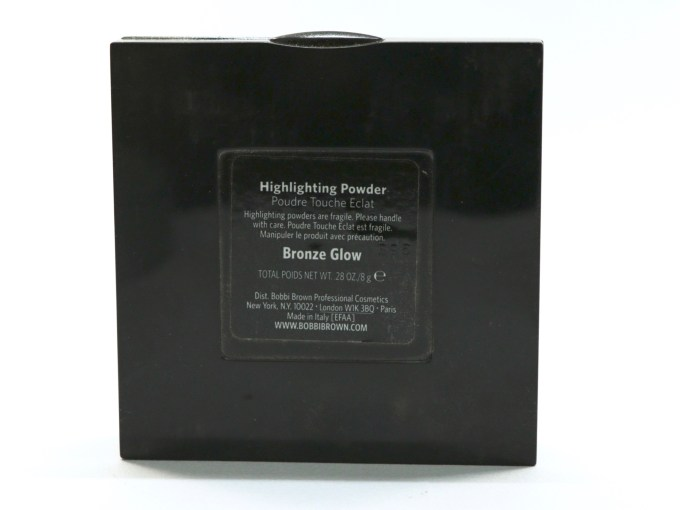 Bobbi Brown Bronze Glow Highlighting Powder Review, Swatches Info