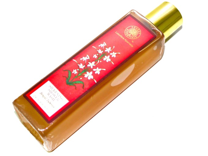 Forest Essentials Silkening Shower Wash Bengal Tuberose Review