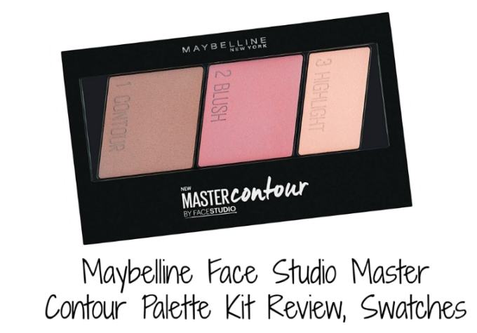 Maybelline Face Studio Master Contour Palette Kit Review, Swatches
