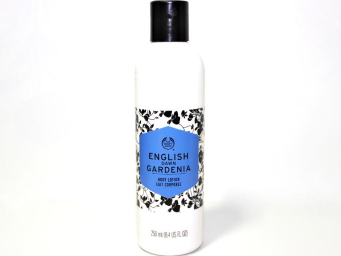 The Body Shop English Dawn Gardenia Body Lotion Review MBF