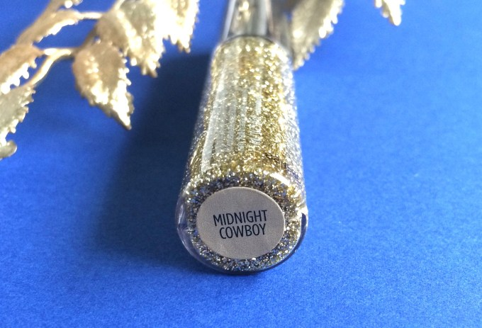 Urban Decay Heavy Metal Glitter Eyeliner Midnight Cowboy Review, Swatches 1