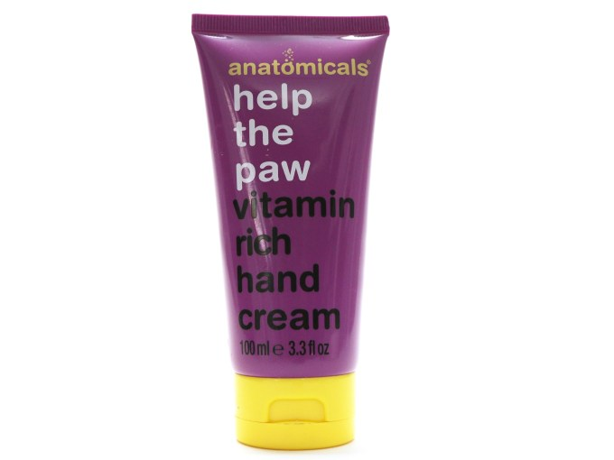 Anatomicals Help the Paw Vitamin Rich Hand Cream Review
