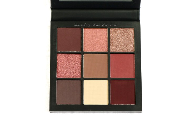 Huda Beauty Mauve Obsessions Eyeshadow Palette Review, Swatches MBF