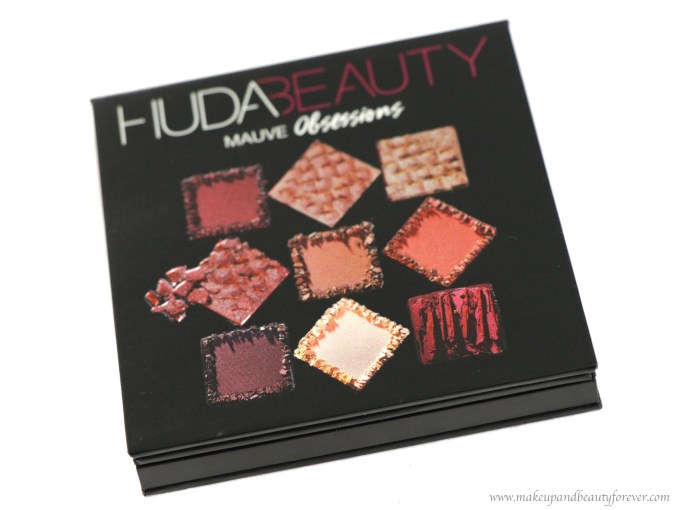 Huda Beauty Mauve Obsessions Eyeshadow Palette Review, Swatches on MBF