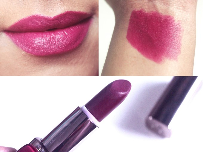 L'Oreal Plum Mannequin 235 Color Riche Moist Matte Lipstick Review, Swatches MBF Blog