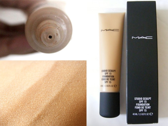 MAC Studio Sculpt Foundation SPF 15 Review, Swatches