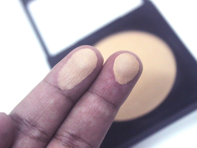 PAC Studio Finish Compact Powder 4 Review, Shades, Swatches