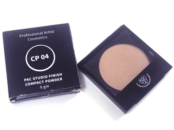PAC Studio Finish Compact Powder Review, Shades, Swatches