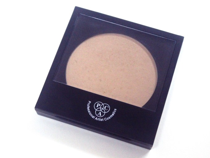 PAC Studio Finish Compact Powder Review Swatches