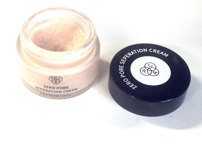 PAC Zero Pore Separation Cream Review, Shades, Swatches 1