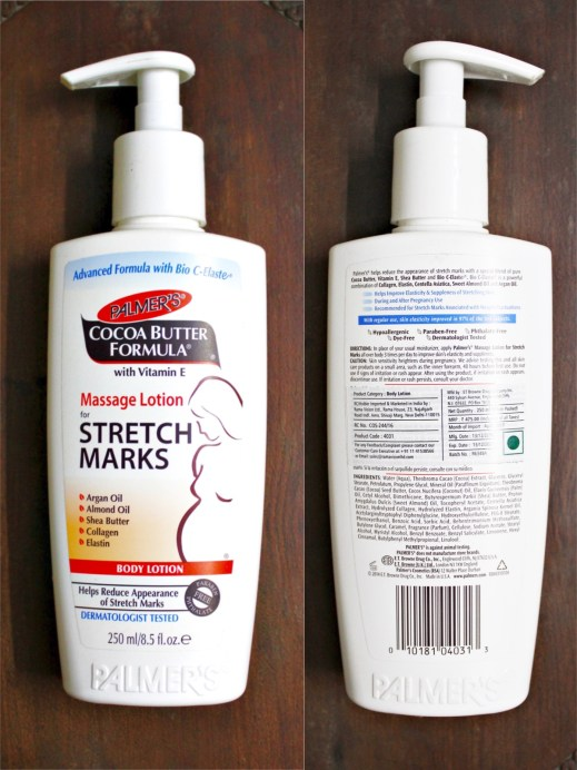 Palmer's Cocoa Butter Formula Massage Lotion For Stretch Marks Review Blog MBF