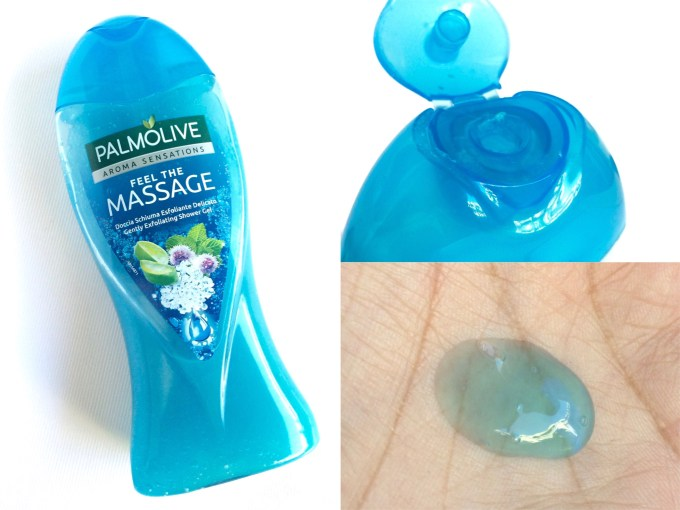 Palmolive Aroma Sensations Feel the Massage Gently Exfoliating Shower Gel Review MBF Blog