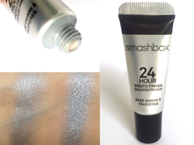 Smashbox 24 Hour Photo Finish Shadow Primer Review, Swatches, Demo