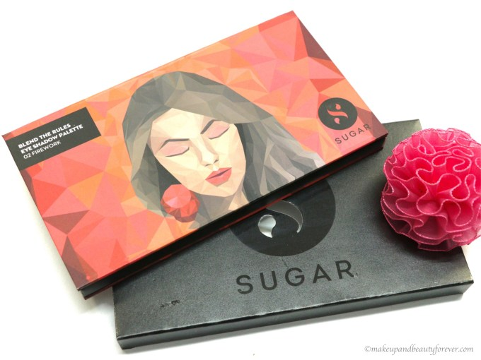 Sugar Blend The Rules Eyeshadow Palette Firework 02 Review, Swatches