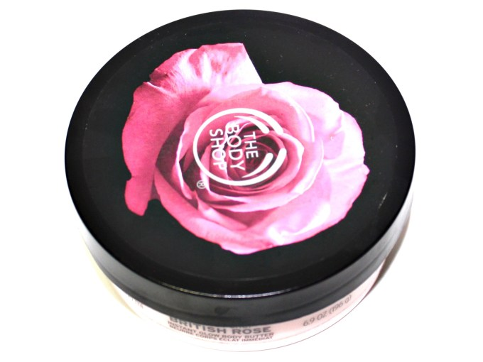 The Body Shop British Rose Instant Glow Body Butter Review