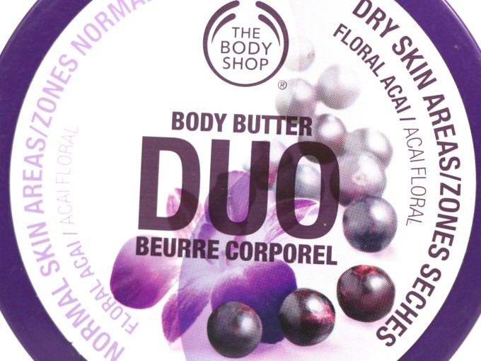 The Body Shop Floral Acai Body Butter Duo Review MBF