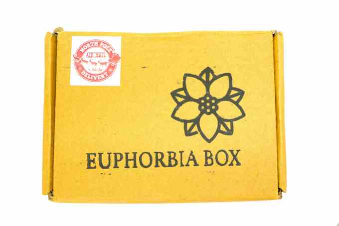 Euphorbia box - India's Most Affordable Beauty Box