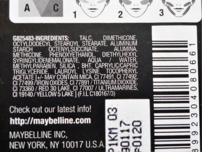 Maybelline Face Studio Contouring Blush Brown Review, Swatches Ingredients