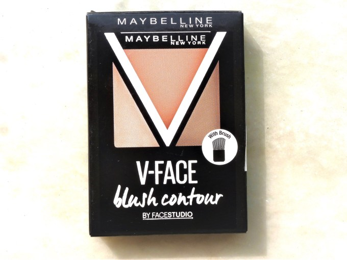 Maybelline Face Studio Contouring Blush Brown Review, Swatches packaging