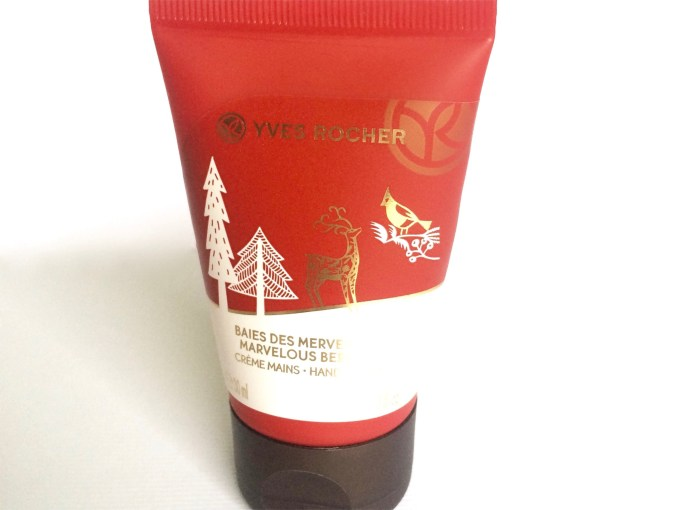 Yves Rocher Marvelous Berries Hand Cream Review MBF