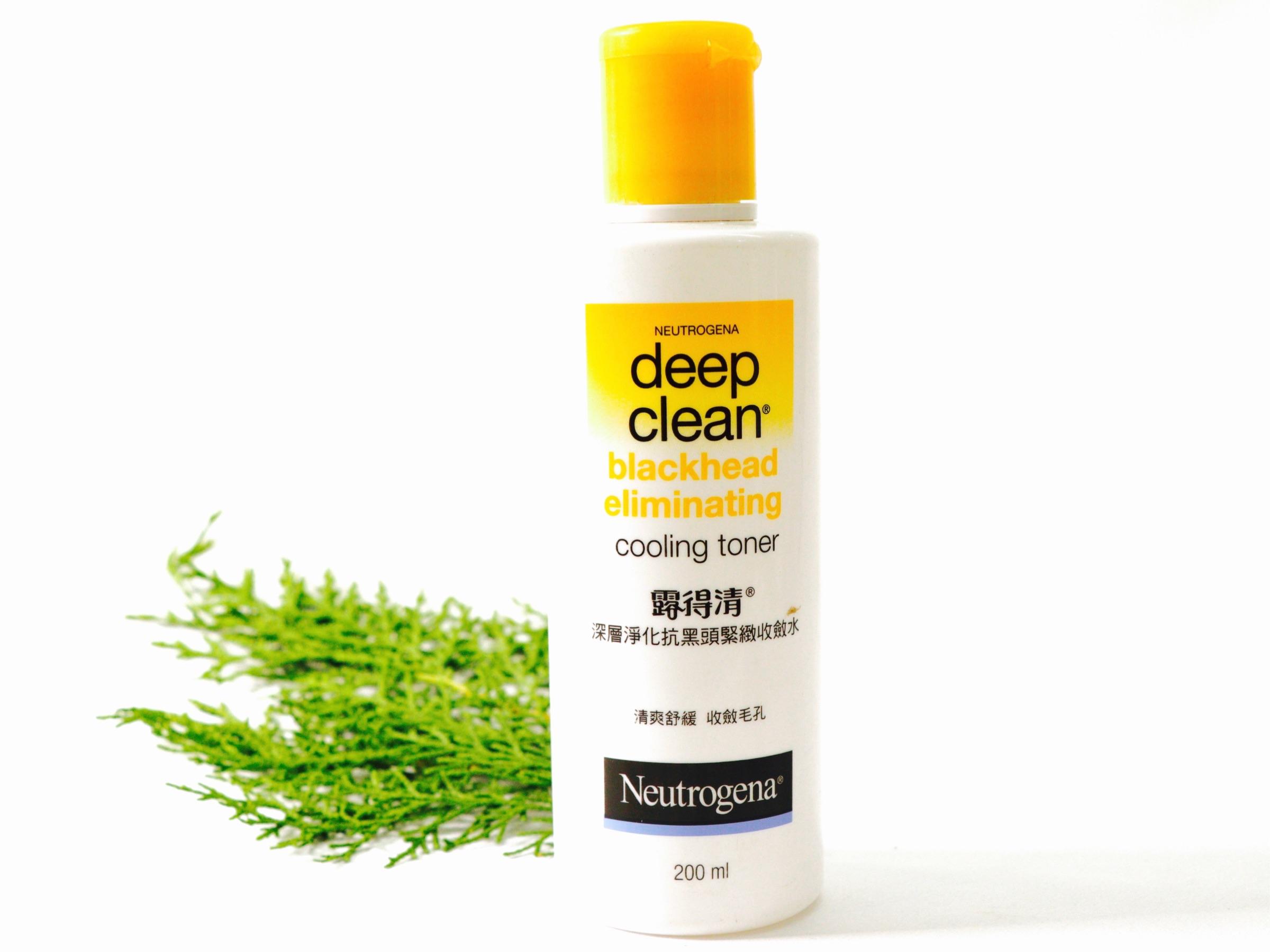 Neutrogena Deep Clean Blackhead Eliminating Cooling Toner Review