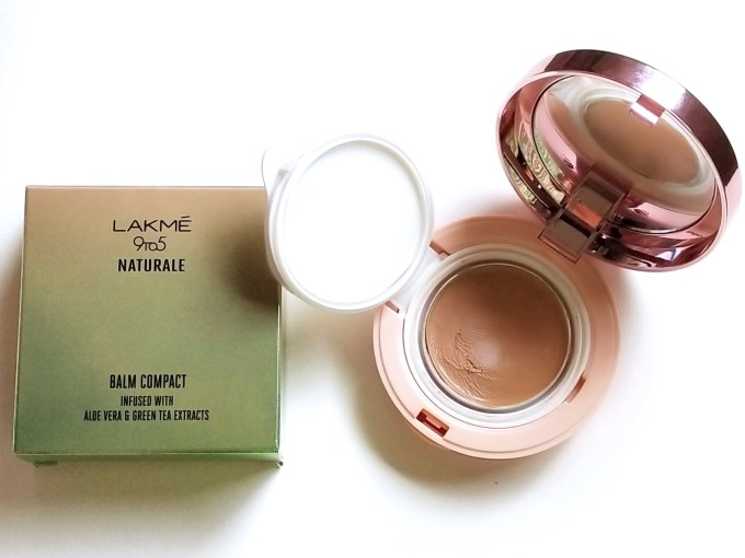 Lakme 9 to 5 Naturale Balm Compact Review, Swatches