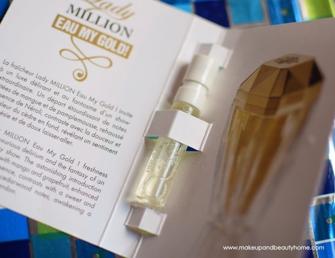paco rabanne lady million eau perfume sample