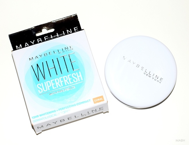 maybelline superfresh whitening compact
