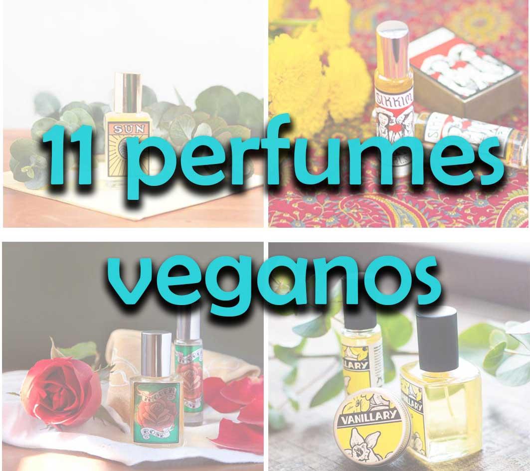 11 perfumes importados Veganos