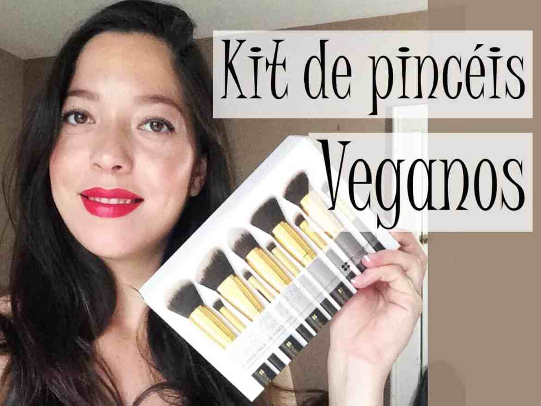 Resenha Kit de pincéis cruelty free e vegan | BH Cosmetics