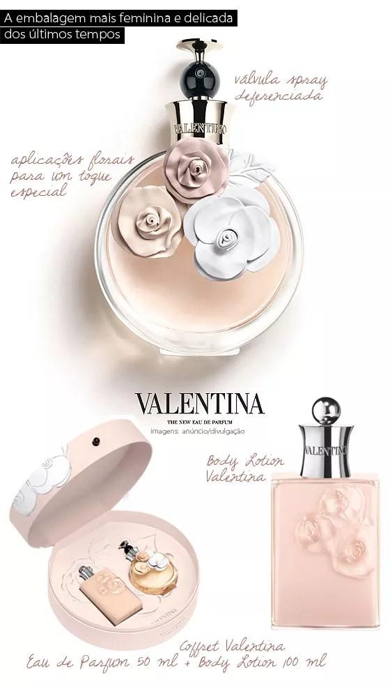 Perfumando Valentina O Novo Perfume De Valentino