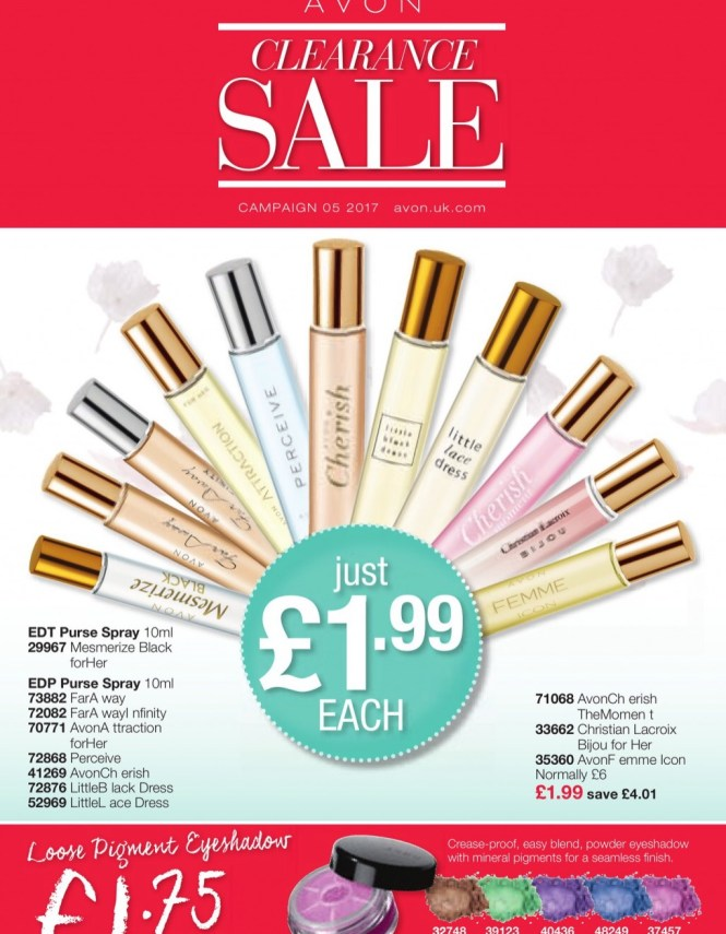 Avon Brochure 5 2017 Clearance Sale