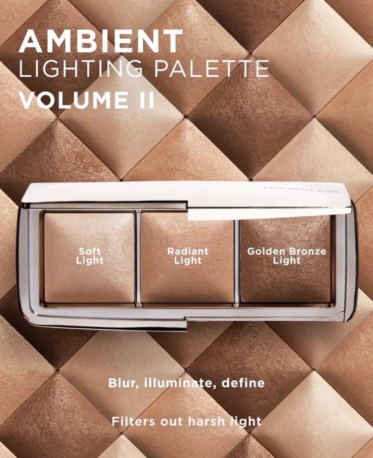 hourglass ambient lighting palette ii