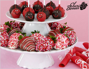 Chocolate-covered strawberries from Shari's Berries