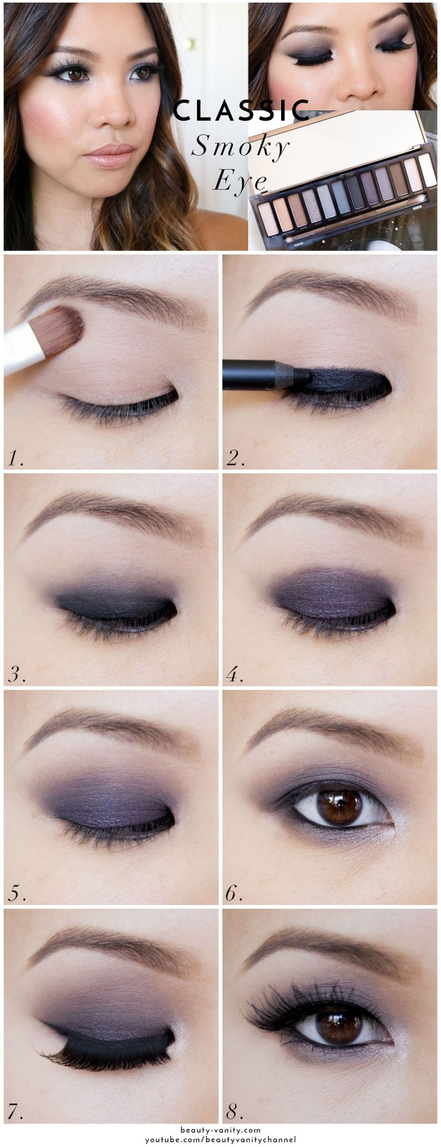 Asian Eyes Makeup The Beauty Vanity Classic Smoky Eye Makeup For Asian Eyes