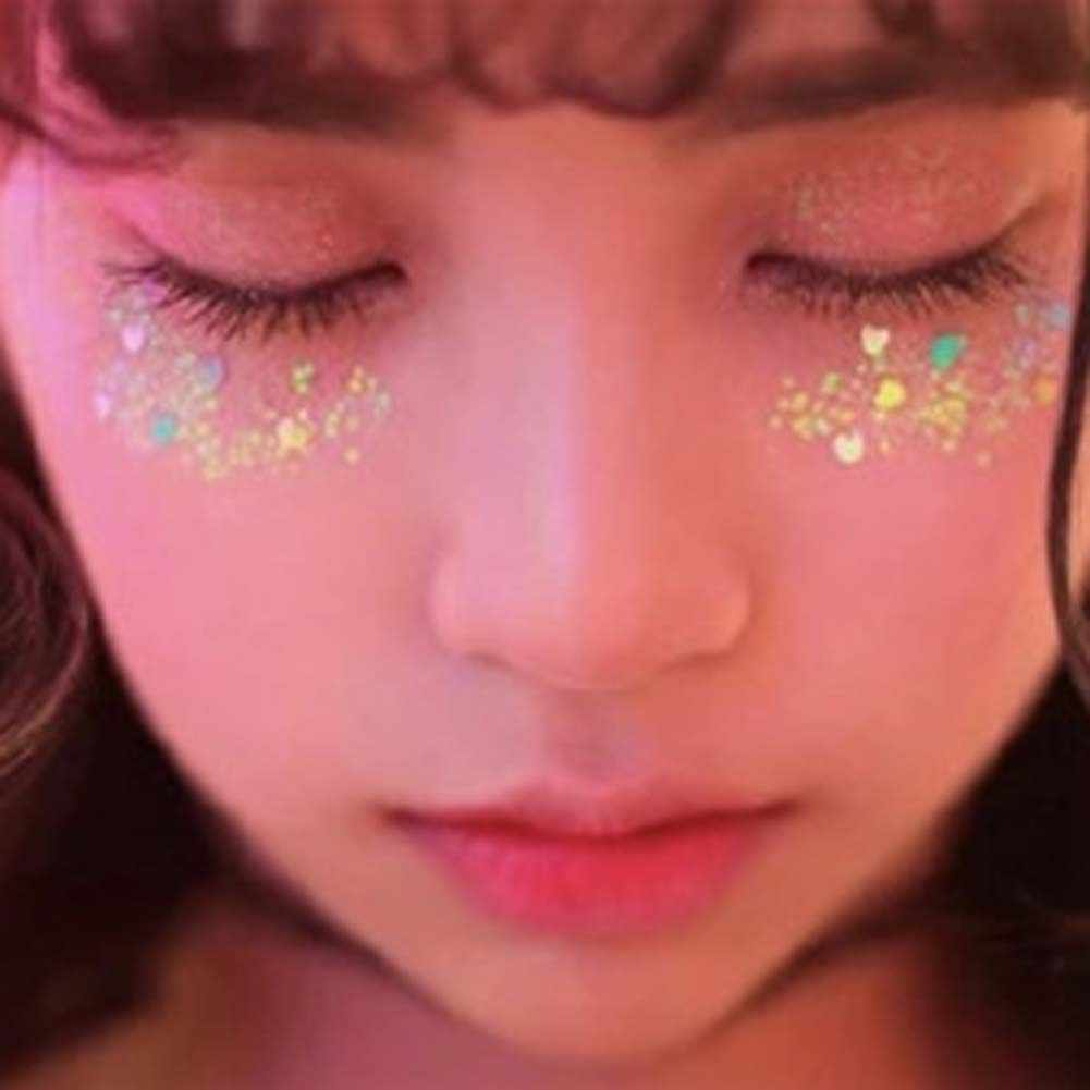 Ball Eye Makeup Detail Feedback Questions About Glue Glitter Eye Makeup Stars Moon