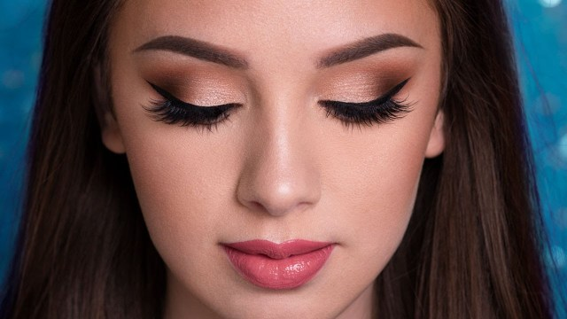 Ball Eye Makeup Prom Makeup Tutorial Easy Glam Youtube