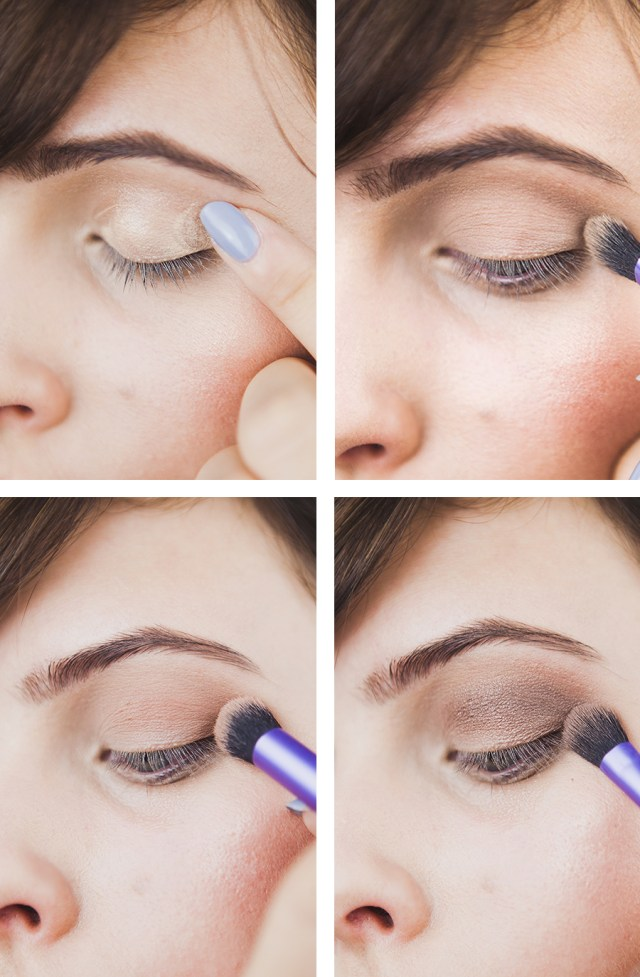 Ball Eye Makeup Smokey Nudes An Everyday Eye Tutorial