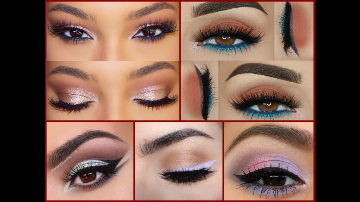Best Makeup Eyes How To Make Brown Eyes Best Makeup Ideas For Brown Eyes Youtube