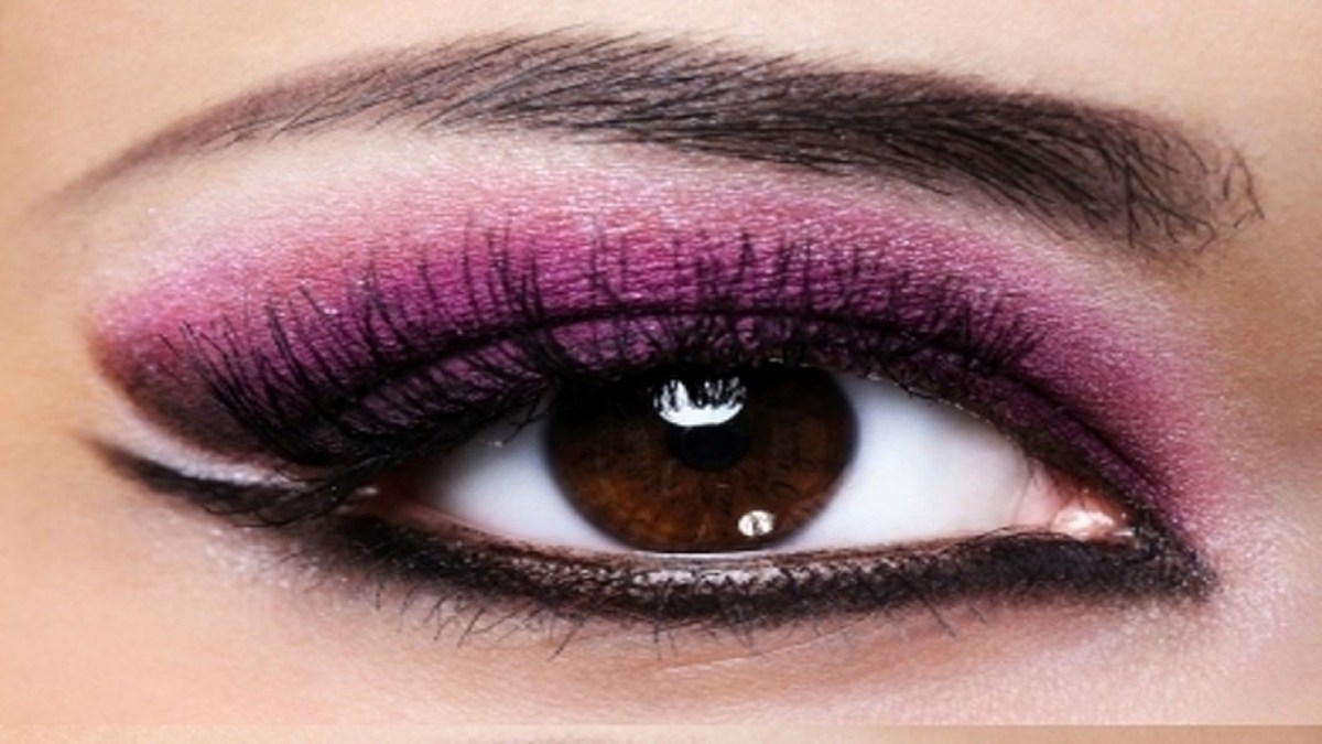 Best Makeup Eyes Smokey Eye Makeup With Purple And Black Color Free Best Hd