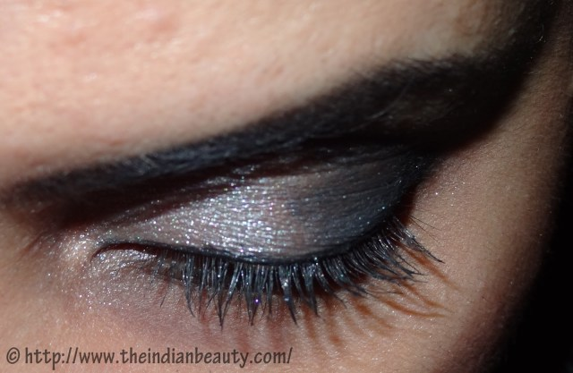 Black And Silver Eye Makeup Silver Black Smokey Eyes In 8 Simple Steps Tutorial The Indian