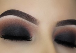 Black Smokey Eye Makeup Classic Black Smokey Eye Tutorial Youtube