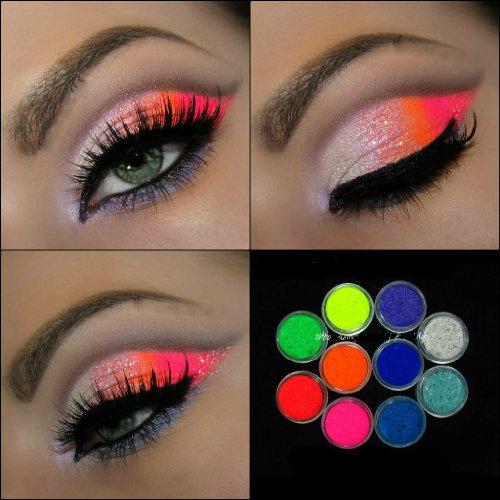 Bright Color Eye Makeup 10 Myo Ultra Bright Color Set Eyeshadow Pigment Mica Cosmetic