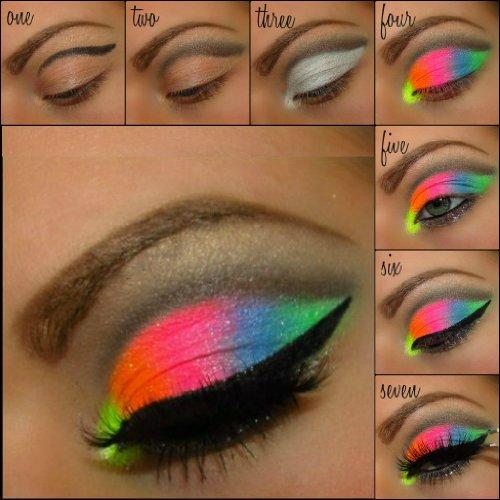 Bright Color Eye Makeup 5 Myo Ultra Bright Remix Shimmer Color Set Eyeshadow Pigment Mica