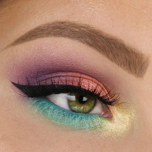 Bright Color Eye Makeup Makeup For Green Eyes 21 Makeup Tips For Green Eyes Ladylife