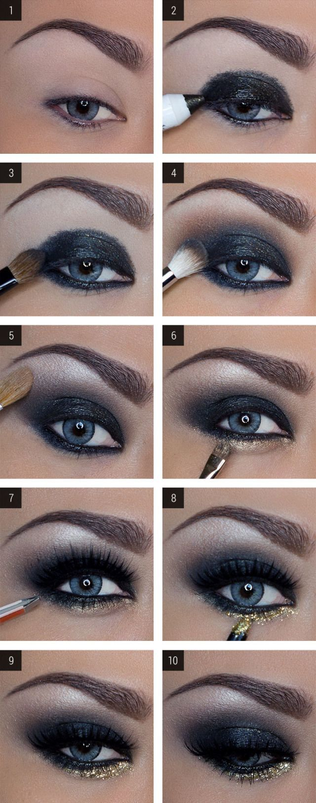 Cool Black Eye Makeup Simple Party Makeup Tips For Black Women To Look Gorgeous
