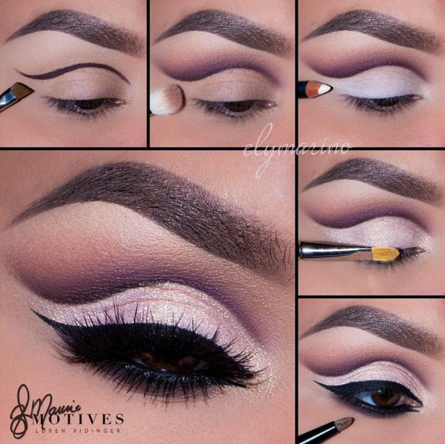 Cut Crease Eye Makeup Create This Gorgeous Cut Crease Eye Shadow Look Ely Marino Using